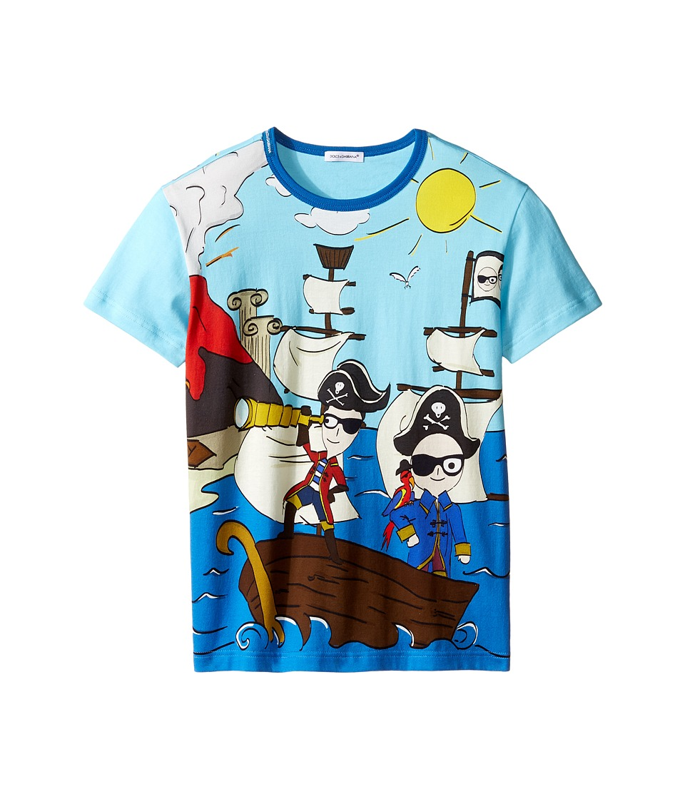 Dolce & Gabbana Kids - Mare Sicily Pirate T-Shirt