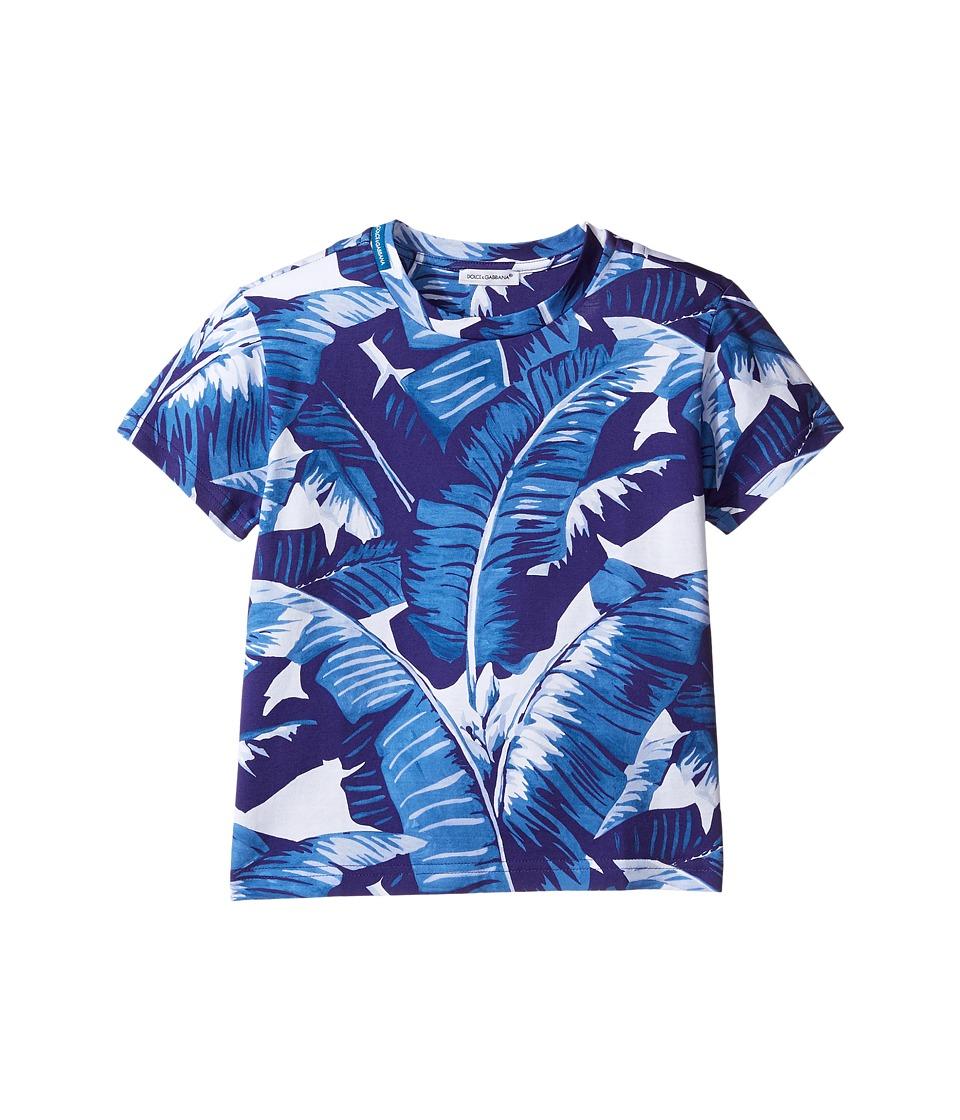 Dolce & Gabbana Kids - Mare Banana Leaf T-Shirt