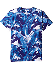 Dolce & Gabbana Kids - Mare Banana Leaf T-Shirt (Big Kids)