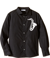 Dolce & Gabbana Kids - Saxophone Button Up (Toddler/Little Kids)