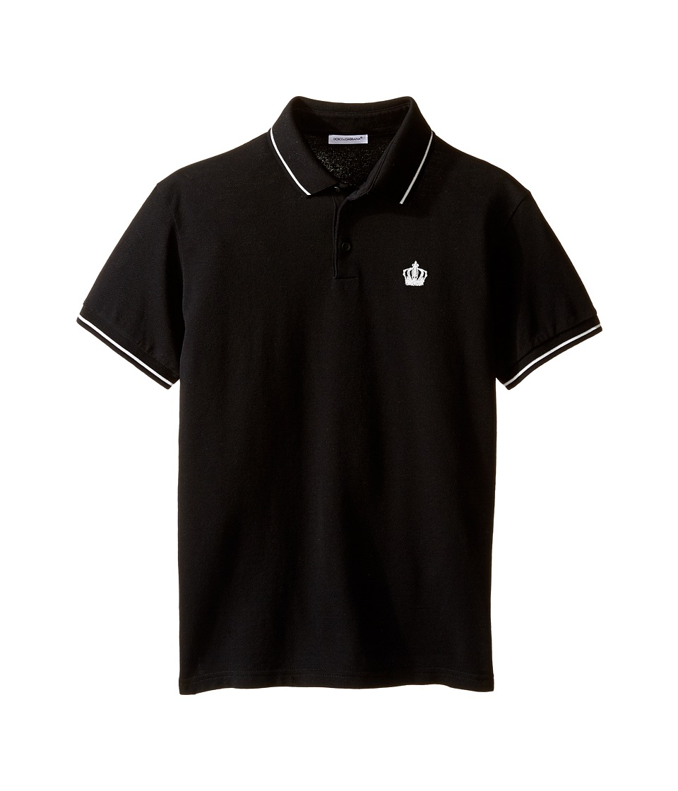 Dolce & Gabbana Kids - Basic Crown Polo