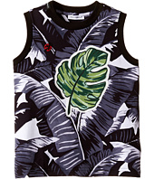 Dolce & Gabbana Kids - Banana Leaf Sleeveless T-Shirt (Toddler/Little Kids)