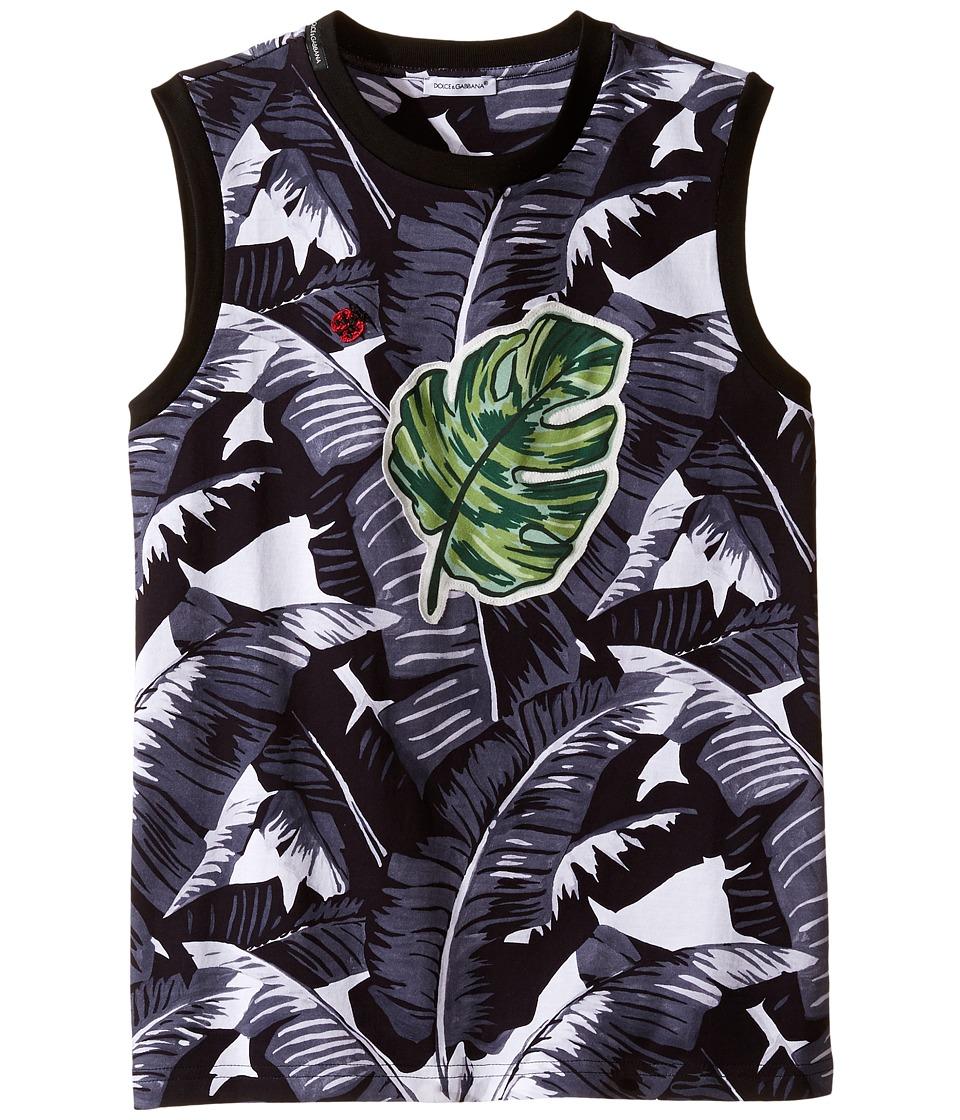 Dolce & Gabbana Kids - Banana Leaf Sleeveless T
