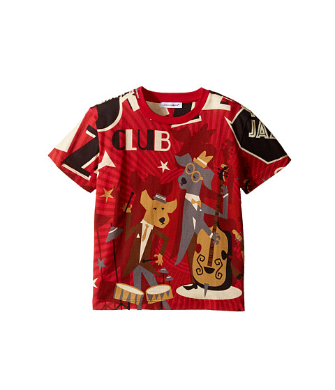 Dolce & Gabbana Kids Mambo Club T-Shirt (Toddler/Little Kids)