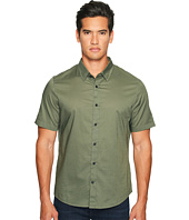 Vince - Reverse Placket Short Sleeve Voile Shirt