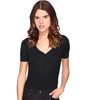 ATM Anthony Thomas Melillo - V-Neck Henley Bodysuit