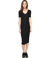 ATM Anthony Thomas Melillo - V-Neck Henley Dress