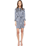 ATM Anthony Thomas Melillo - Striped Shirtdress