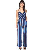 Adelyn Rae - Cynthia Woven Striped Jumpsuit
