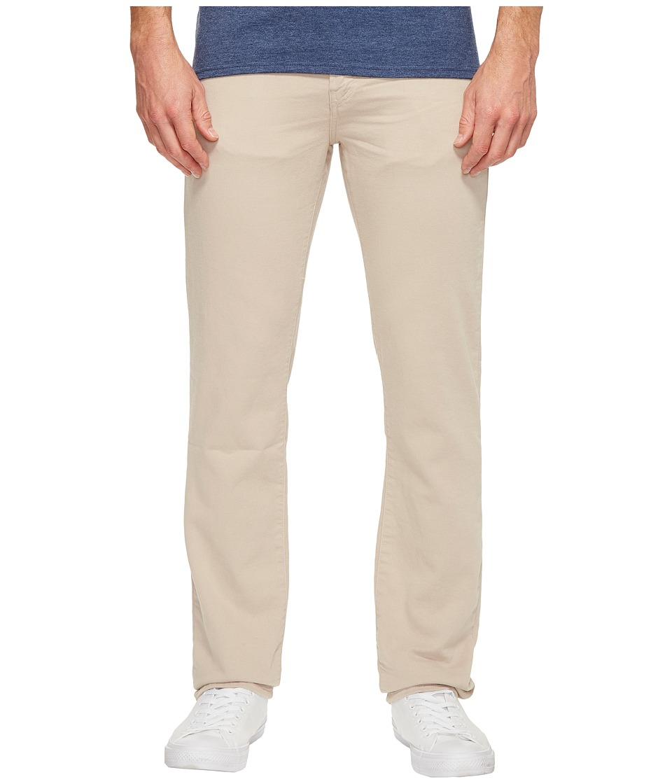 J Brand - Kane Straight Leg French Terry in Keckley Concrete Dust