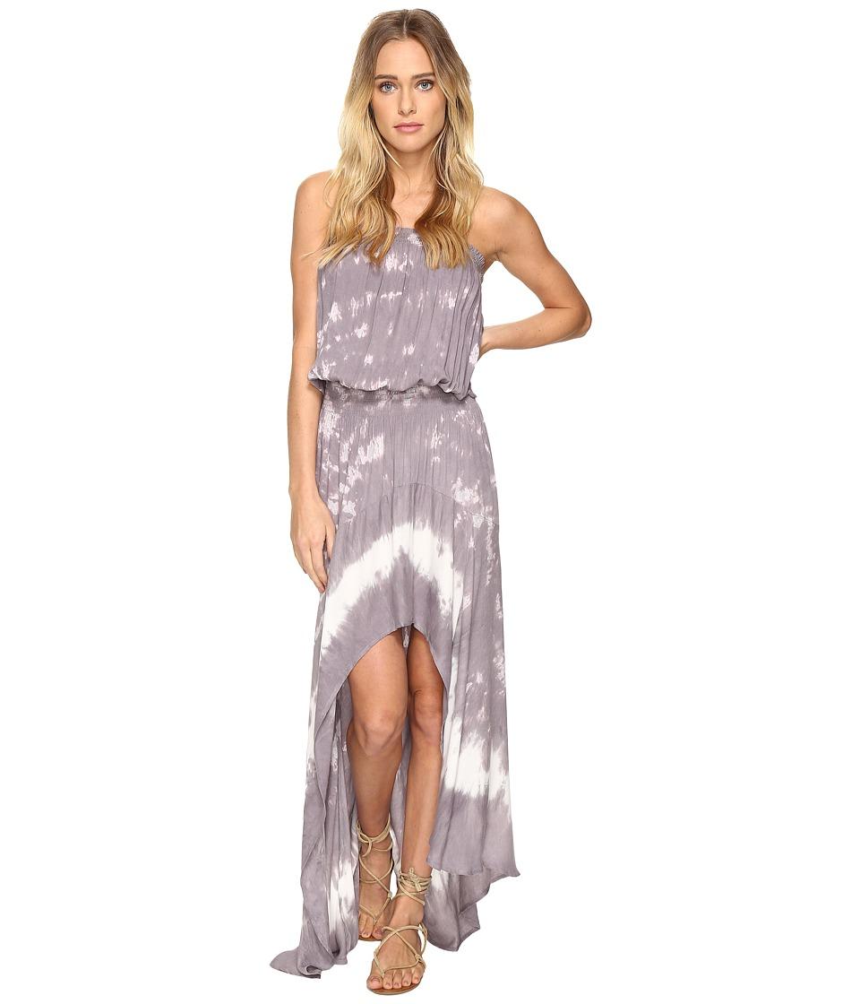 Young Fabulous & Broke Kylie Dress (Grey Border) Women