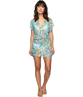 LAUREN Ralph Lauren - Ocean Tie-Dye Poolside Tunic Cover-Up