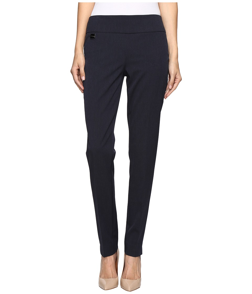 Lisette L Montreal - Gaby Stretch Fabric Slim Pants (Navy...