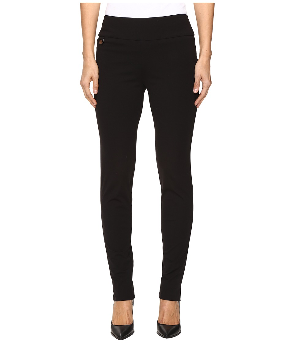 Lisette L Montreal - Kathryne Fabric Slim Pants (Black) W...