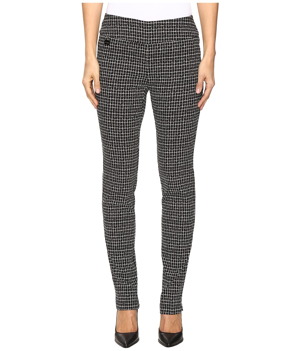 Lisette L Montreal - Grid Pattern Slim Pants (Black) Wome...