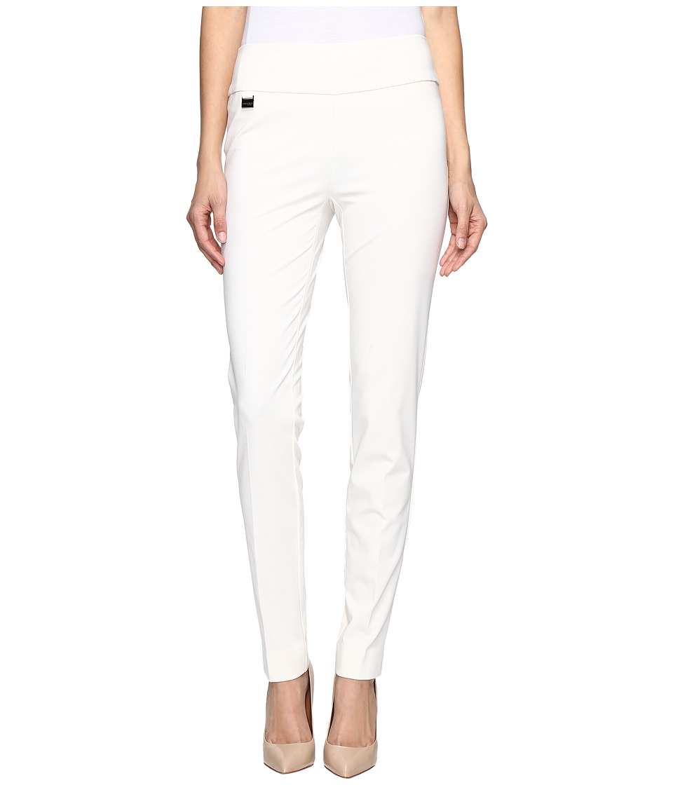 Lisette L Montreal - Kathryne Fabric Slim Pants (Ivory) W...