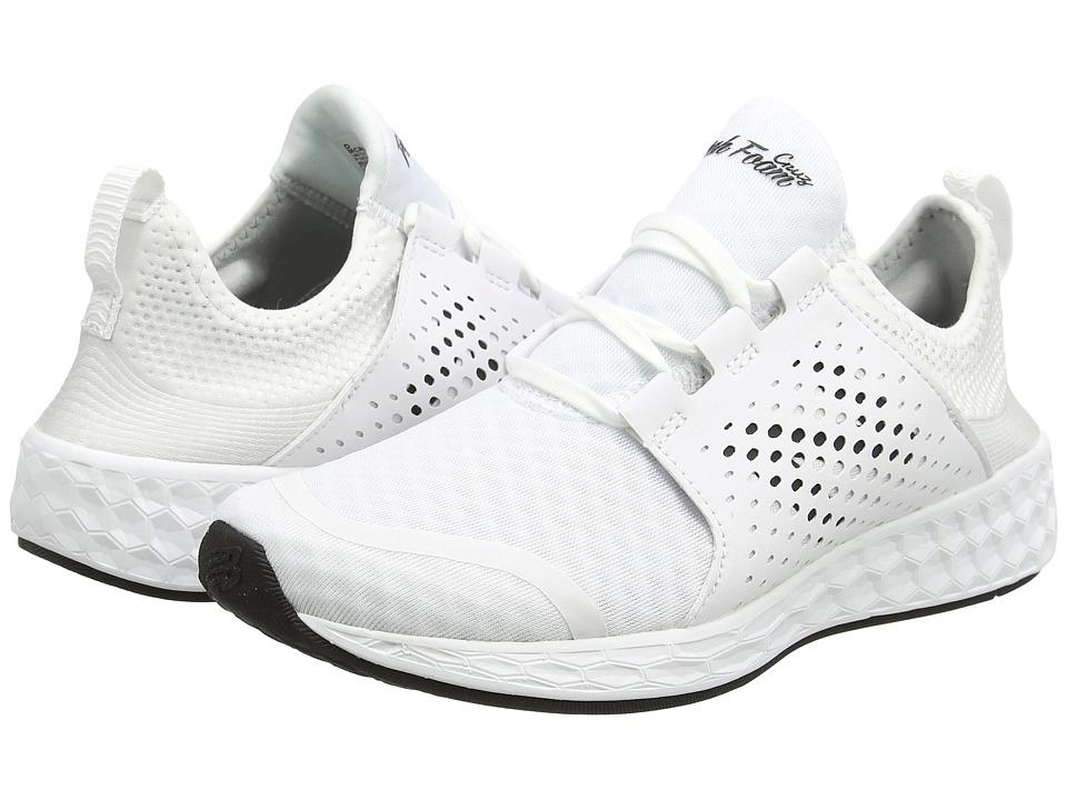 New Balance Fresh Foam Cruz v1 (White/White) Men
