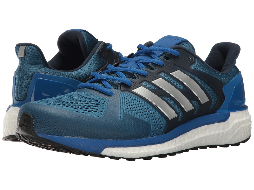 adidas Running Supernova Stability (Core Blue/Silver/Blue) Men