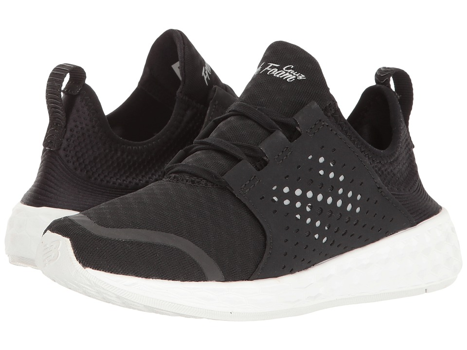 New Balance Fresh Foam Cruz v1 (Black/White) Women