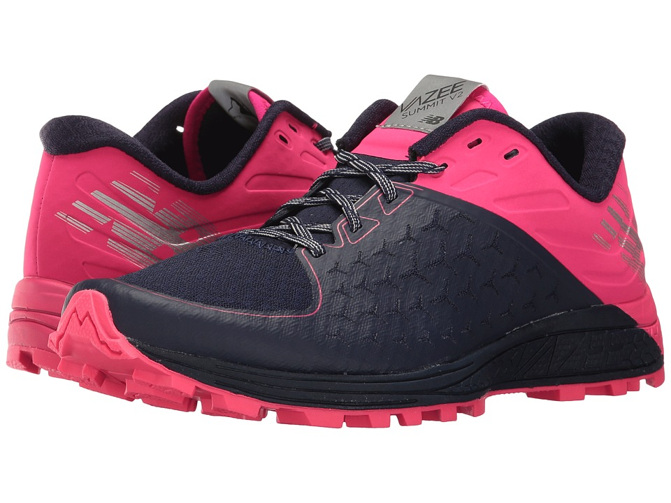 New Balance Vazee Summit v2 (Dark Denim/Alpha Pink/Metallic Silver) Women's Running Shoes