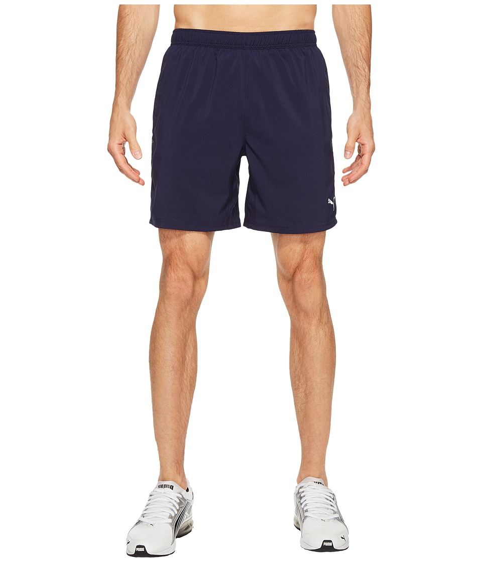 PUMA Core-Run 7 Shorts (Peacoat) Men