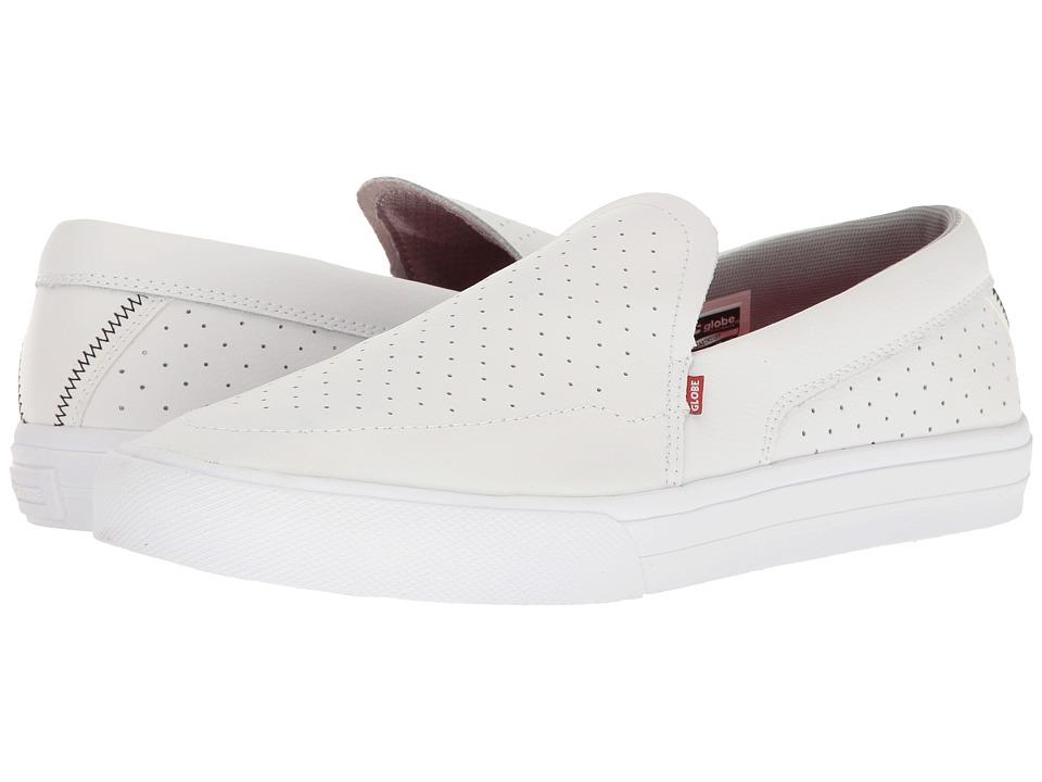 Globe - Castro Lyt (White) Mens Slip on  Shoes
