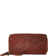 Lucky Brand - Piece Train Large Double Zip Wallet