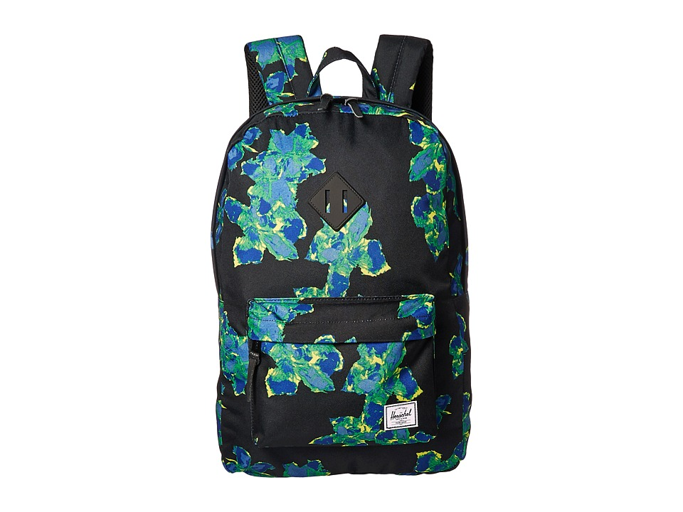 Herschel Supply Co. Heritage (Neon Floral/Black Rubber) Backpack Bags