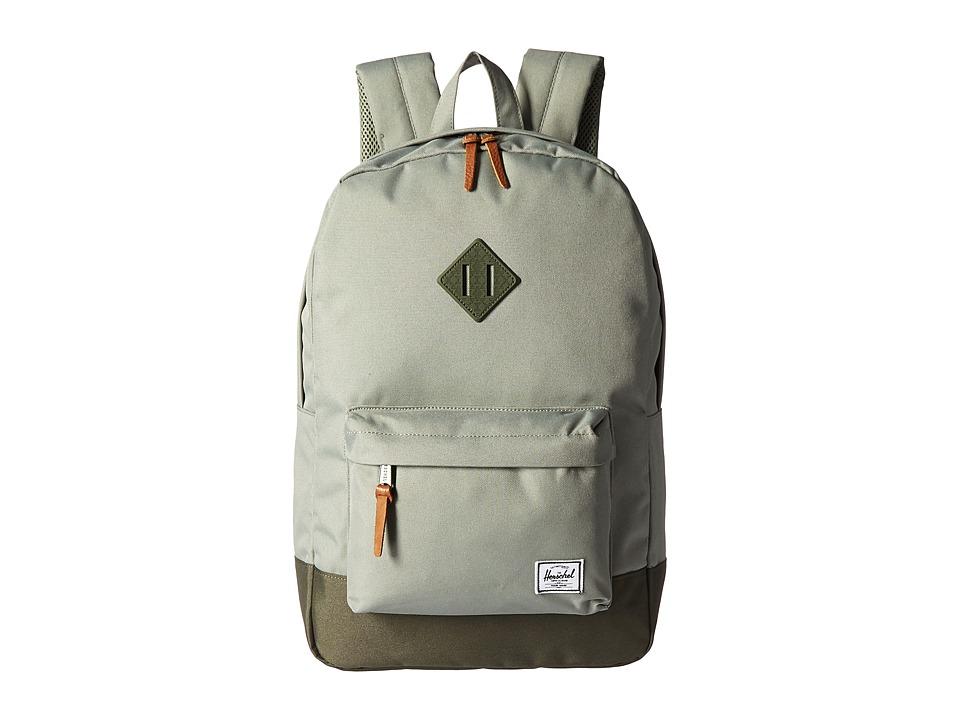 Herschel Supply Co. Heritage (Shadow/Beetle Rubber) Backpack Bags