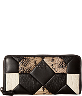 COACH - Canyon Quilt Exotic Accordion Zip
