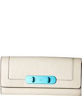 COACH - Carabiner Hardware Swagger Coach Slim Envelope