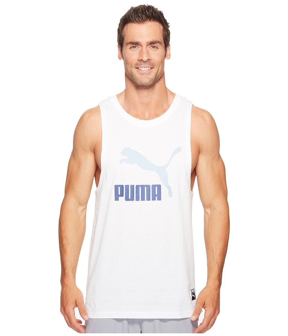 PUMA Archive Logo Fashion Tank Top (PUMA White) Men