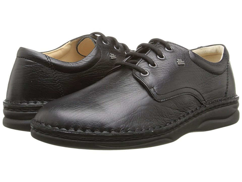 Finn Comfort Metz 1100 Black Grain Mens Shoes