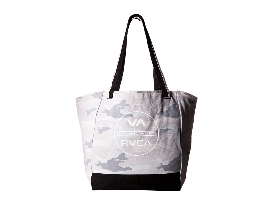 RVCA - Washed Out Tote (Camo) Tote Handbags