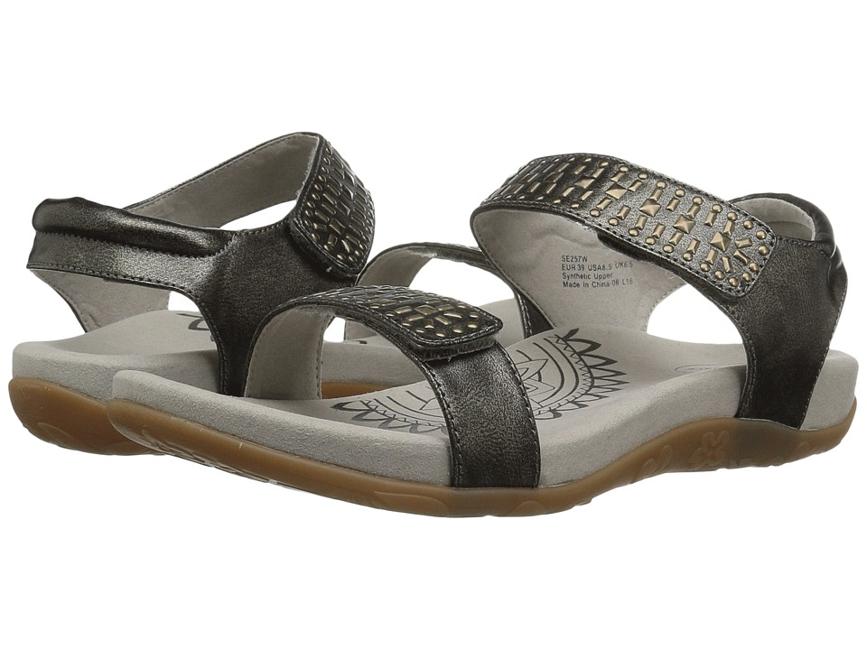 Aetrex Maria (Pewter) Sandals