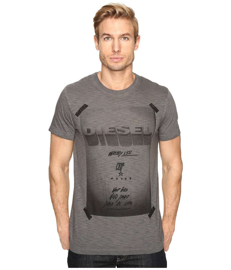 Diesel T-Diego-HN T-Shirt (Black) Men