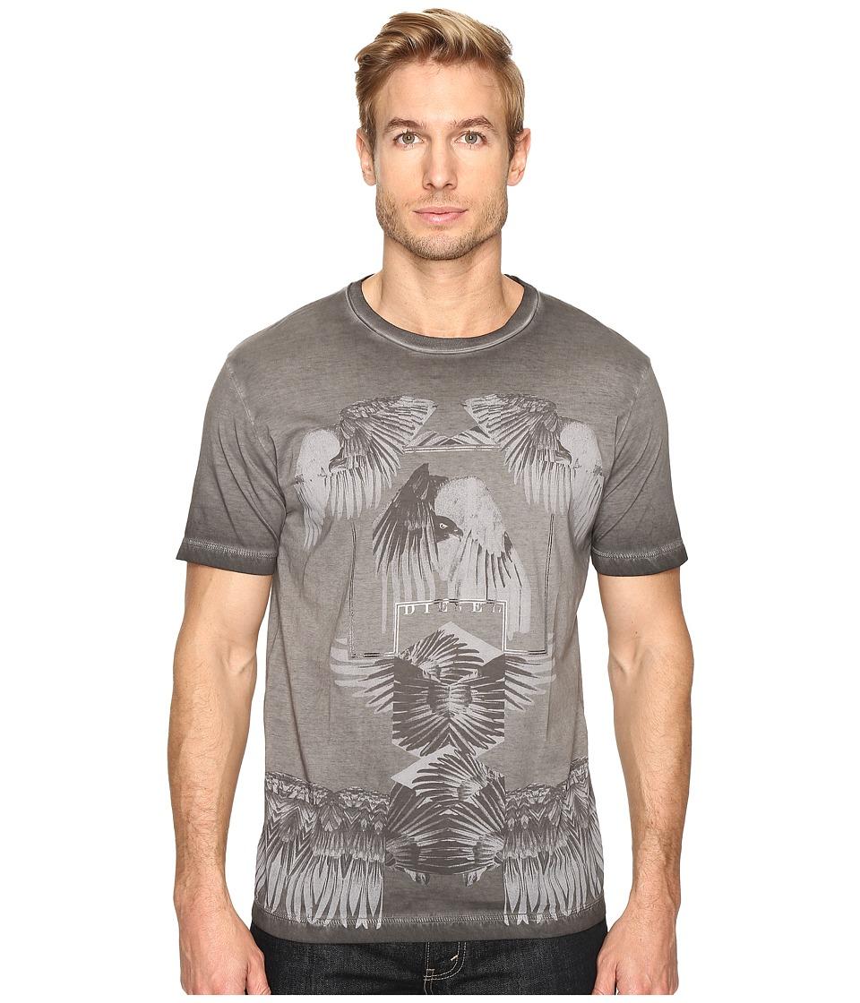 Diesel T-Joe-HO T-Shirt (Black) Men