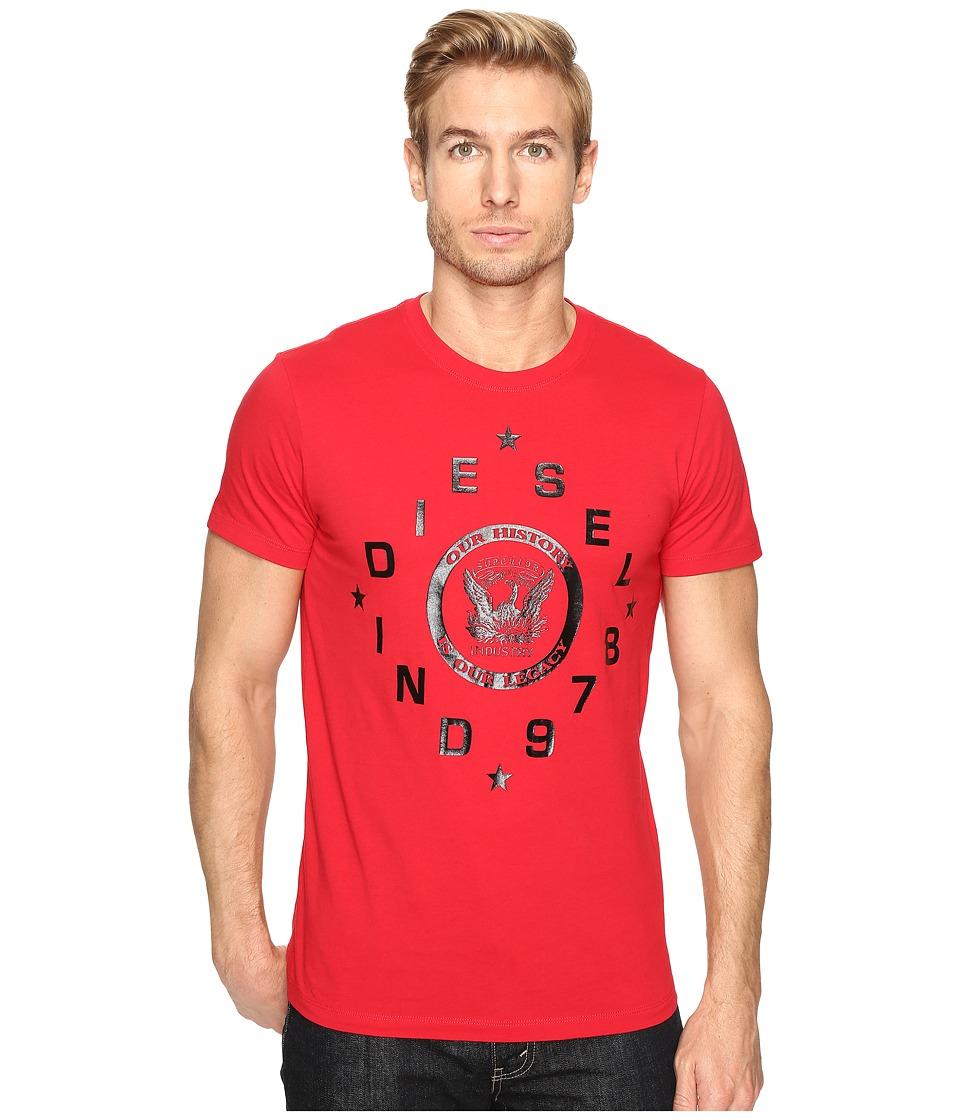 Diesel T-Diego-HE T-Shirt (Red) Men