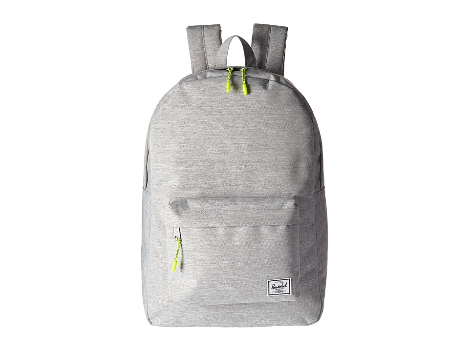 Herschel Supply Co. Classic (Light Grey Crosshatch) Backpack Bags