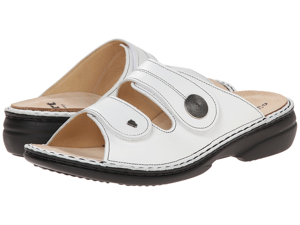 Finn Comfort Sansibar 82550 (White Nappa) Women's Shoes