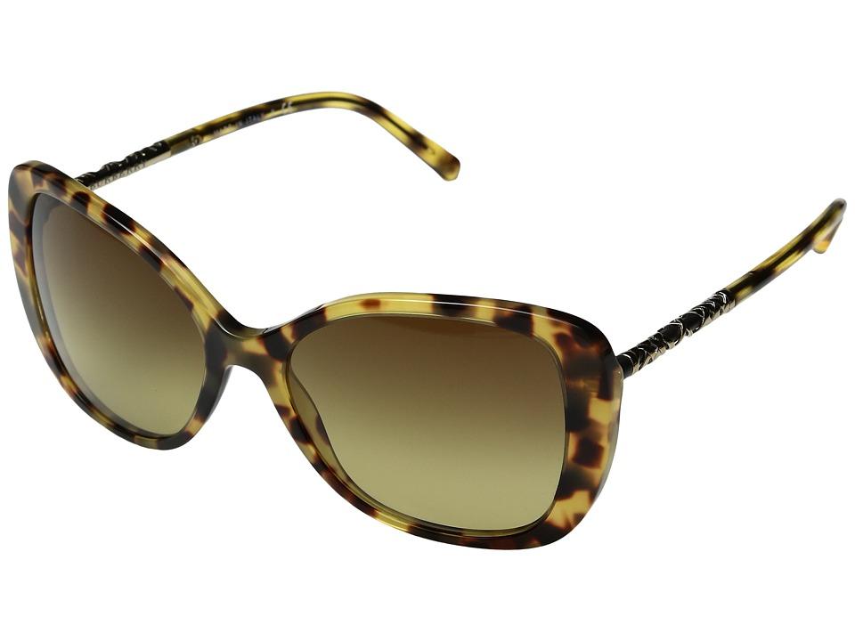 Burberry - 0BE4238 (Light Havana/Brown Gradient) Fashion Sunglasses