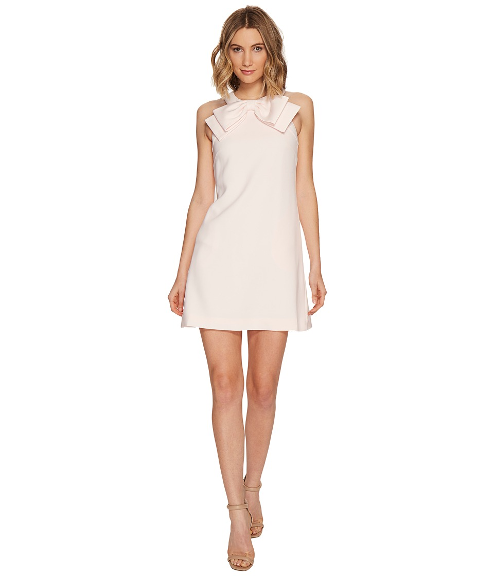 Ted Baker Trixia Halter Neck A-Line Bow Dress (Baby Pink) Women