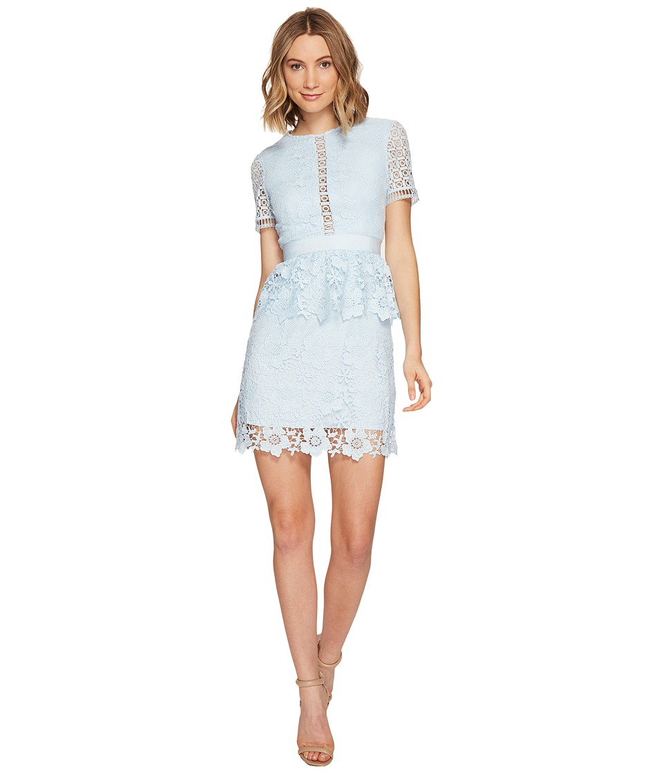Ted Baker Dixa Layered Lace Skater Dress (Baby Blue) Women