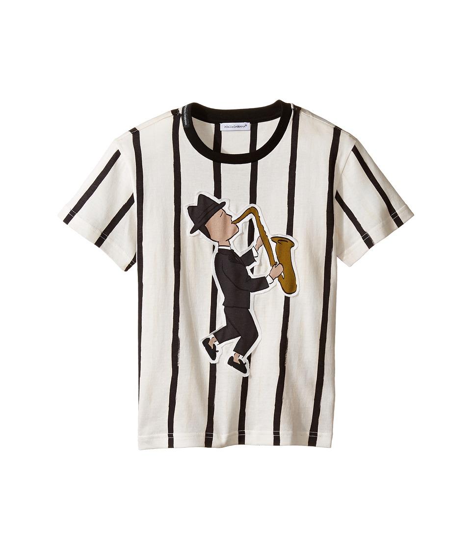 Dolce & Gabbana Kids - Jazz Musician T-Shirt