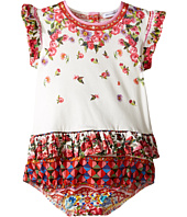 Dolce & Gabbana Kids - Mambo Ruffle One-Piece (Infant)