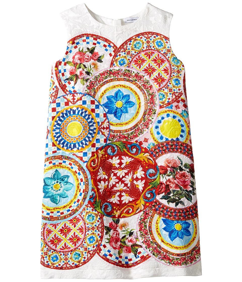 Dolce & Gabbana Kids - Mambo Brocade Dress