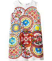 Dolce & Gabbana Kids - Mambo Brocade Dress (Toddler/Little Kids)