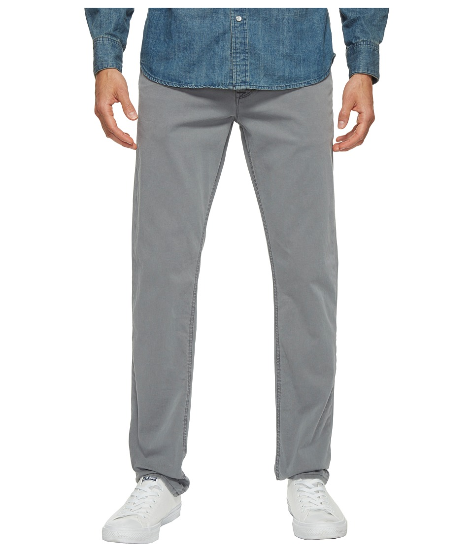 Hudson - Blake Slim Straight Zip Fly in Washed Stone Blue (Washed Stone Blue) Mens Jeans