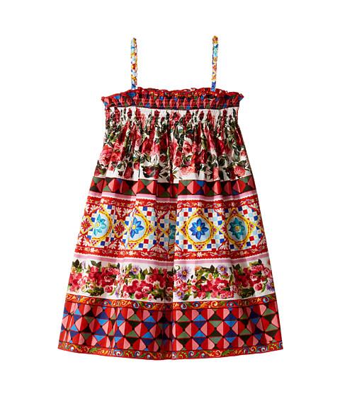 Dolce & Gabbana Kids Mambo Poplin Dress (Toddler/Little Kids)