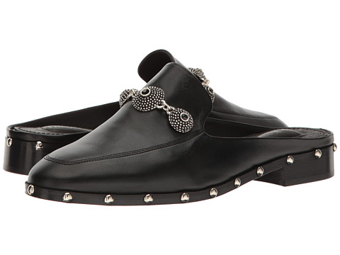 The Kooples Leather Mule with Jewels